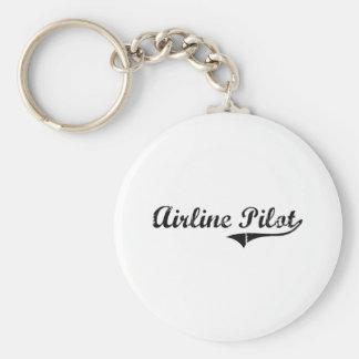 Airline Pilot Professional Job Key Chains