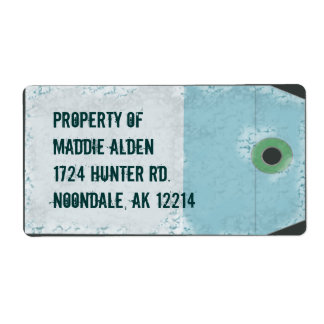 Airline Style Tag Shipping Label