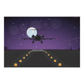 airline takeoff poster