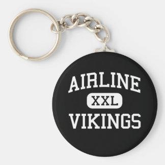 Airline - Vikings - High - Bossier City Louisiana Key Chain