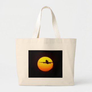 AIRLINER SILOUETTE TOTE BAGS