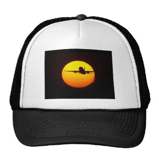 AIRLINER SILOUETTE MESH HATS