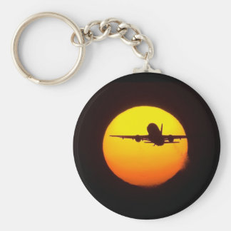 AIRLINER SILOUETTE KEYCHAIN