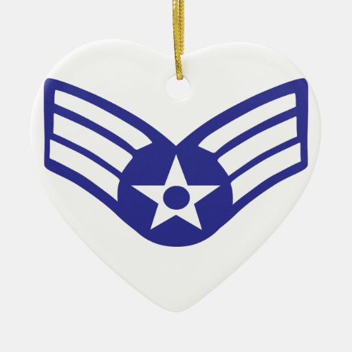 Airman Senior Class USA Airforce Christmas Tree Ornaments