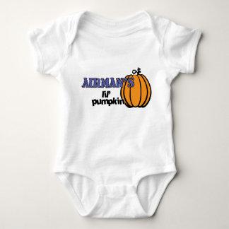 Airman's lil' pumpkin baby bodysuit