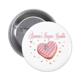 Airman's Sugar Cookie Button