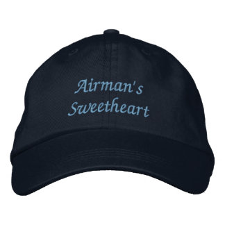 Airman's Sweetheart Embroidered Baseball Cap