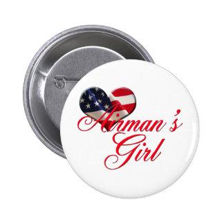 airmen apos s girl pinback buttons