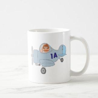 Airplane airplane basic white mug