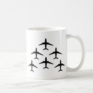 airplane armada coffee mug