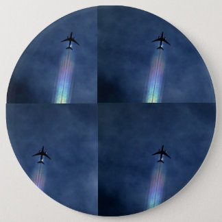 Airplane art button