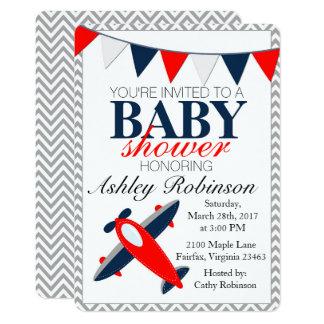 Airplane | Baby Shower Invitation