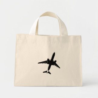 Airplane Tote Bags
