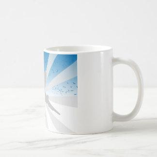 Airplane Basic White Mug