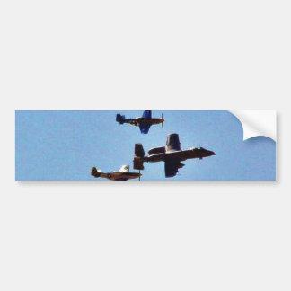 Airplane Bumper Sticker