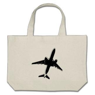 Airplane Canvas Bag