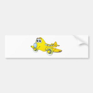 Airplane Cartoon Bumper Stickers