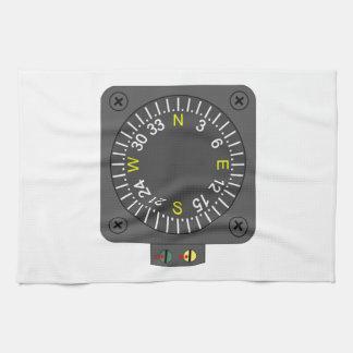Airplane Compass Towel