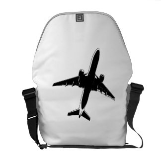 Airplane Courier Bag