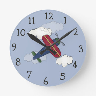 Airplane Decorative Wall Clock