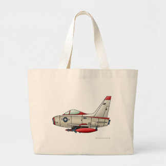Airplane Jet Fighter Military Aircraft Bags/Totes Jumbo Tote Bag