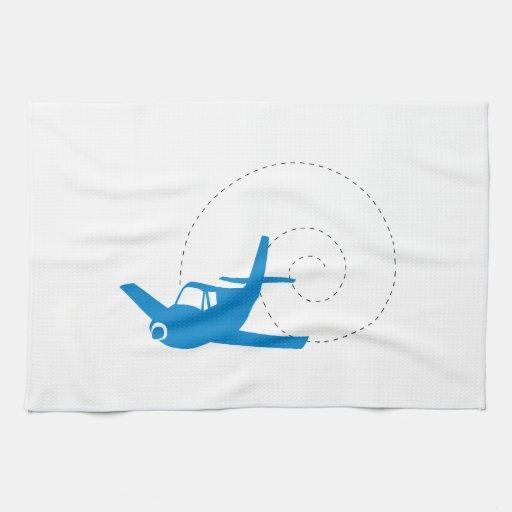 Airplane Loop Hand Towel