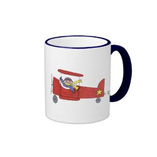 Airplane Ringer Mug