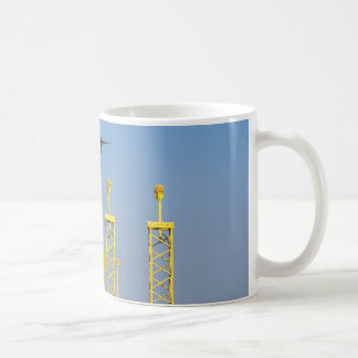 Airplane On Final Approach mosquito Coffee Mug