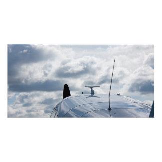Airplane Customized Photo Card