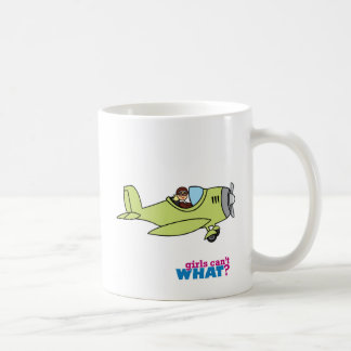 Airplane Pilot Basic White Mug