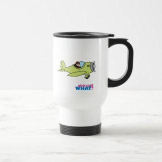 Airplane Pilot - Medium Travel Mug