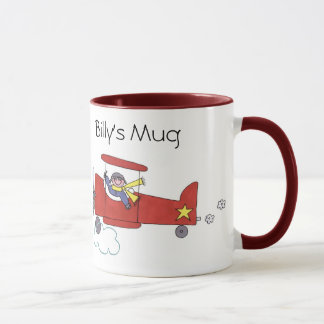Airplane Pilot Mug