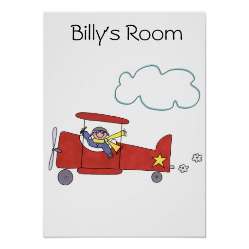 Airplane Pilot Posters