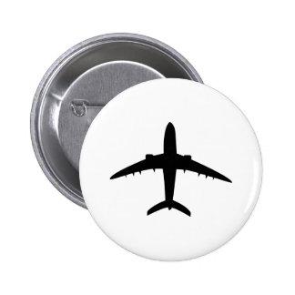 airplane plane aircraft icon pins
