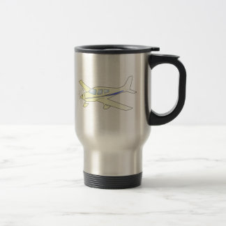 Airplane Stainless Steel Travel Mug