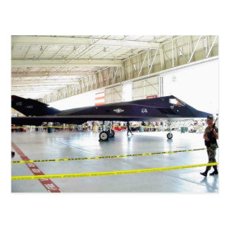 Airplane Stealth Fighter Postcard