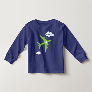 Airplane t-shirt for Charlie's birthday