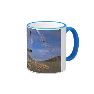 airplane & tank ringer coffee mug