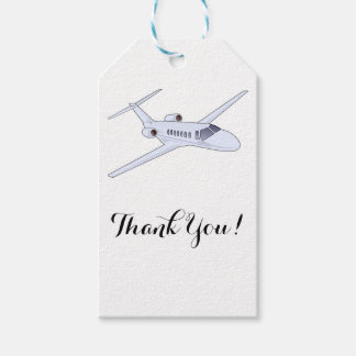 Airplane Thank You Gift Tags