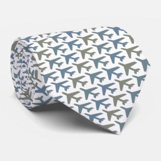 Airplane Tie Armani Grey