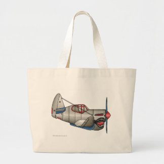 Airplane WW2 Fighter Plane Bags/Totes Tote Bag