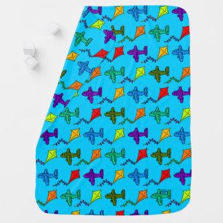 Airplanes & Kites II Baby Blanket