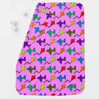 Airplanes & Kites V Baby Blanket
