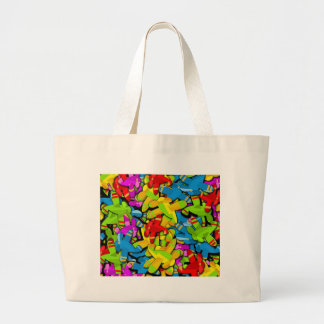 Airplanes Large Tote Bag