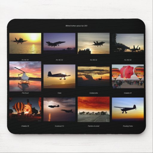 AIRPLANES! MOUSEPAD