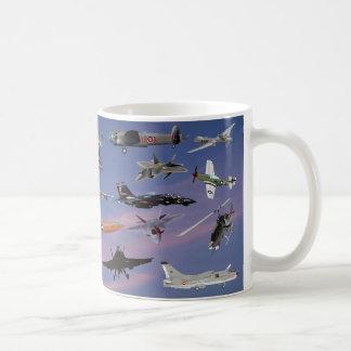 AIRPLANES ON A CAROLINA BLUE SKY COFFEE MUG