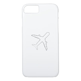 Airplanes Pilot  Funny Flyer Flying Gift iPhone 8/7 Case
