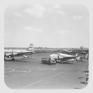 Airplanes Square Sticker