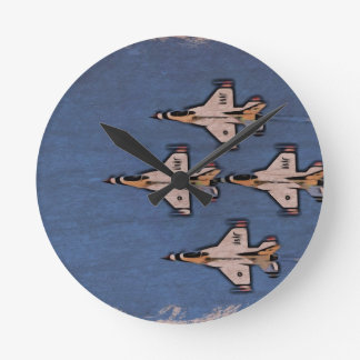 Airplanes the spurt round clock