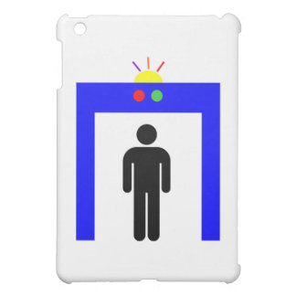 airport metal detector security alarm stick man sy case for the iPad mini